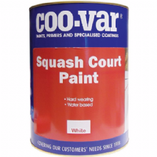 Coo-Var Squash Court Paint